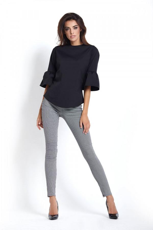 Eleganckie legginsy w pepitkę SAVA 2