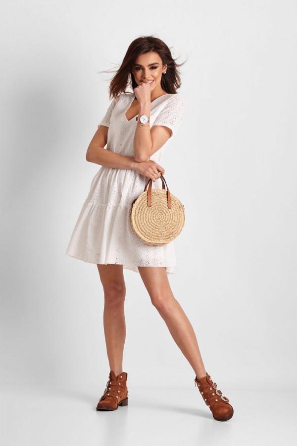 Sukienka ażurowa MELISA 1