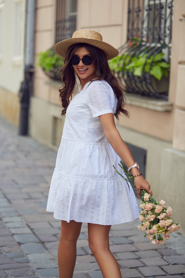 Sukienka ażurowa MELISA 8