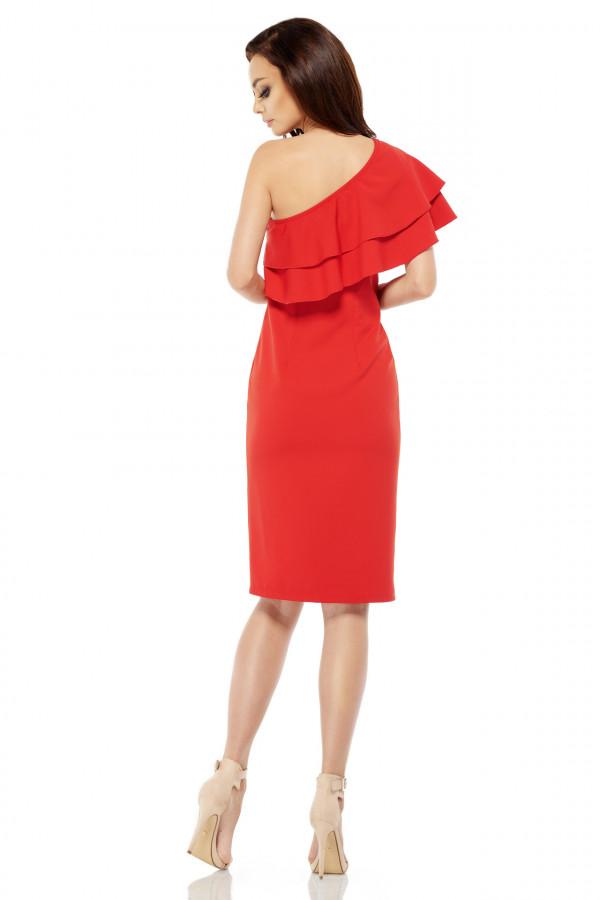 Sukienka na jedno ramię MIGEL 2