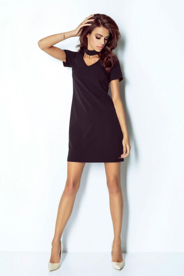 Klasyczna sukienka z chokerem ELENA 2