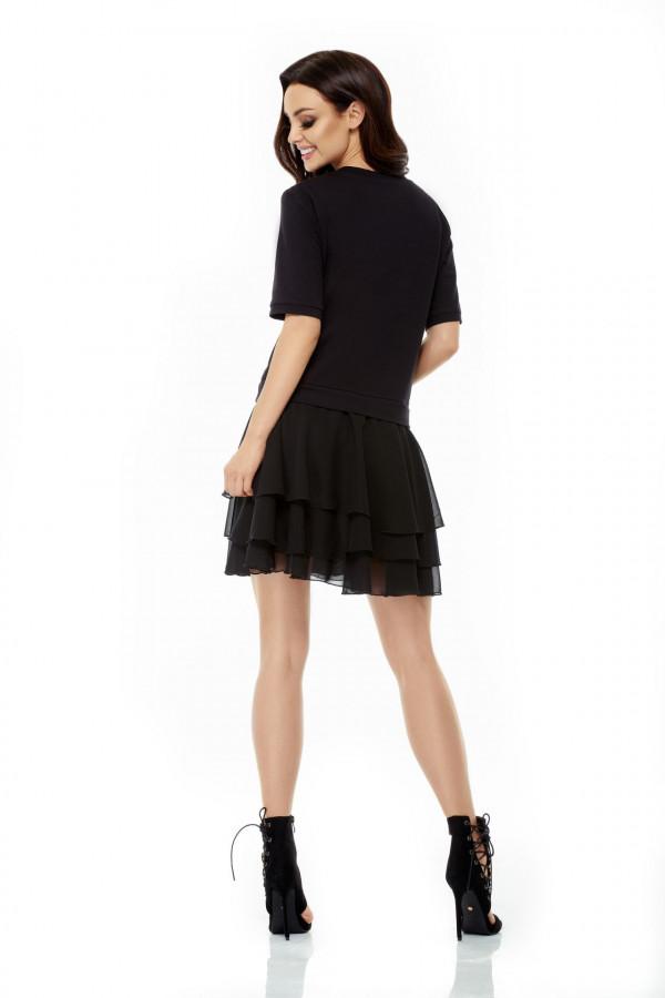 Sukienka mini z falbanami HELEN 1