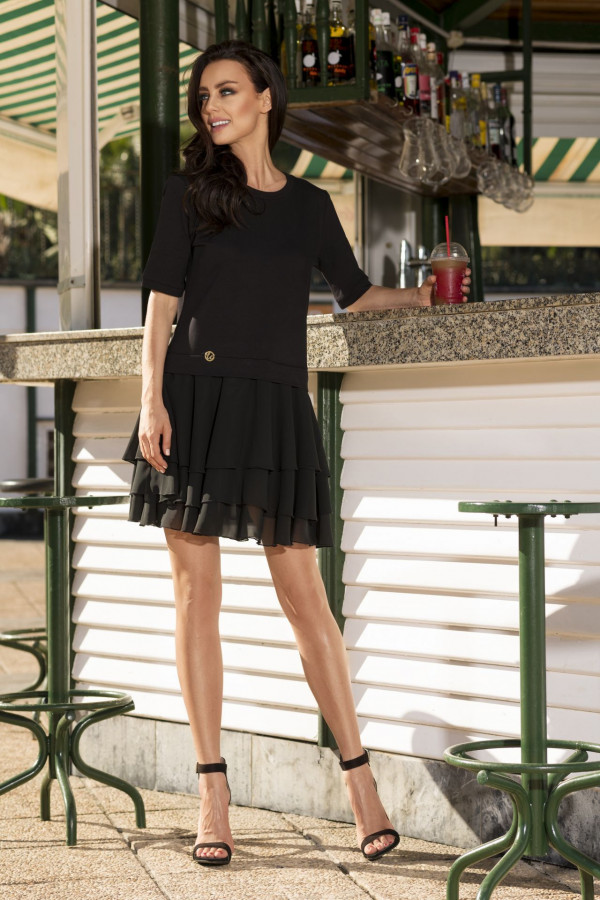 Sukienka mini z falbanami HELEN 5