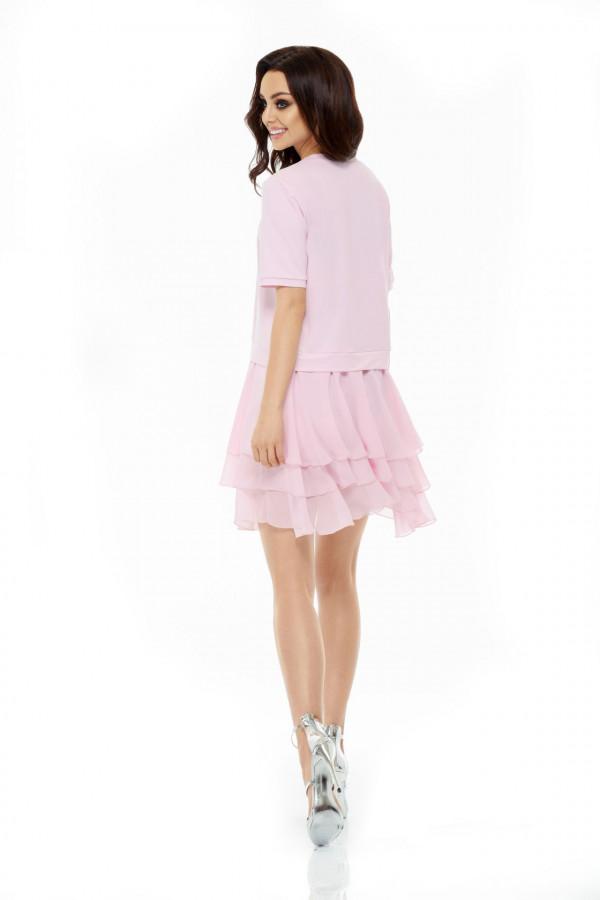 Sukienka mini z falbanami HELEN 2