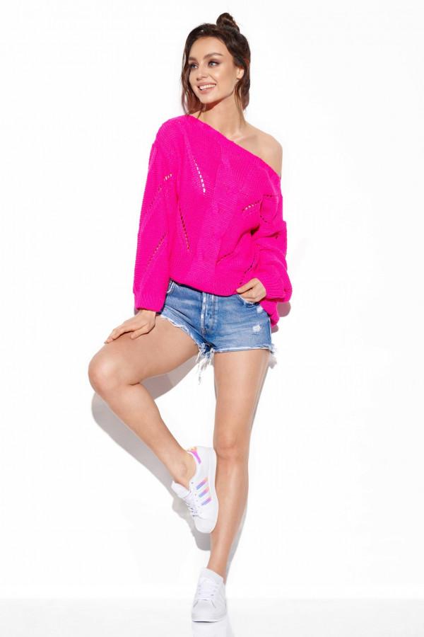 Sweter ażurowy oversize SADIE
