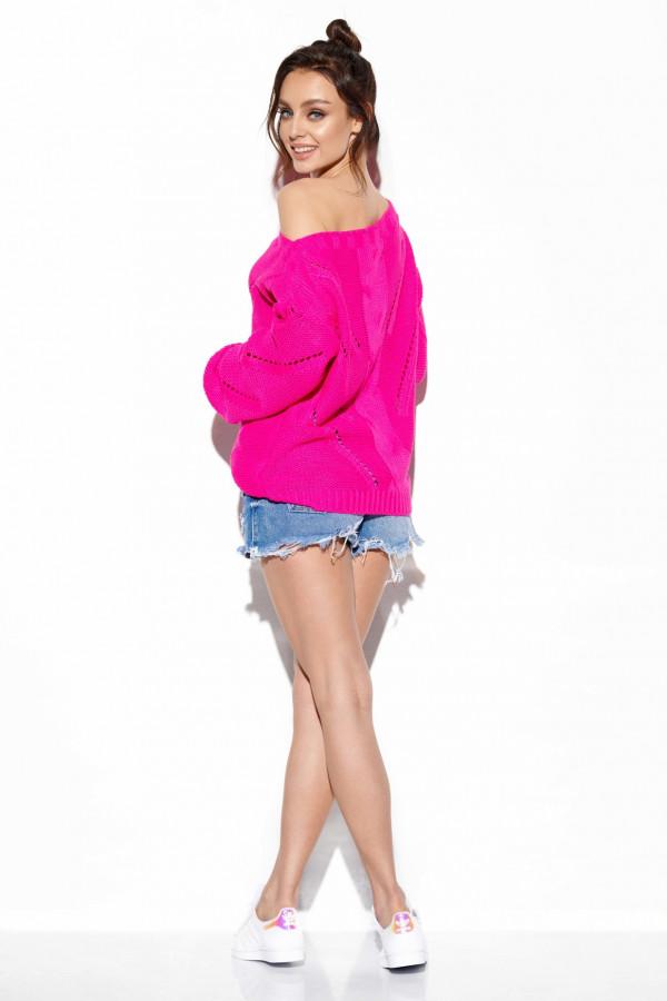 Sweter ażurowy oversize SADIE 2