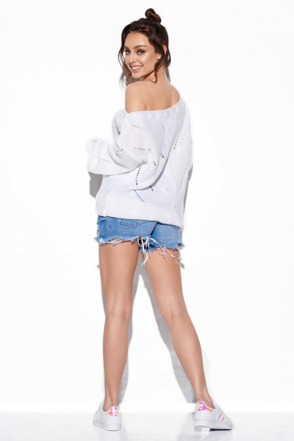 Sweter ażurowy oversize SADIE 3