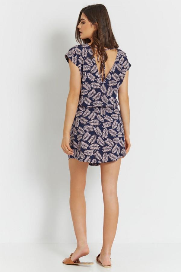Luźna sukienka we wzory NEOMI 2