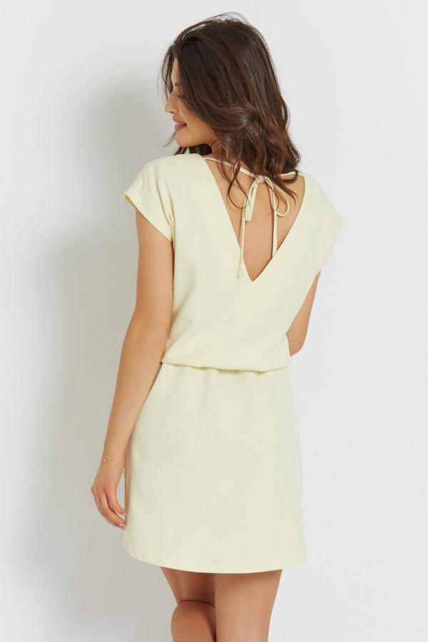 Luźna sukienka z wiązaniem LENA 6