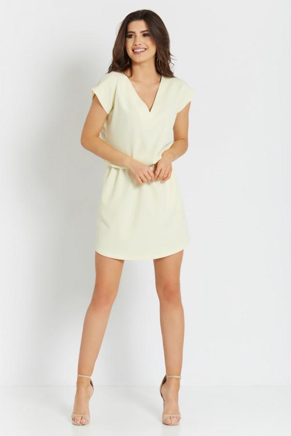 Luźna sukienka z wiązaniem LENA