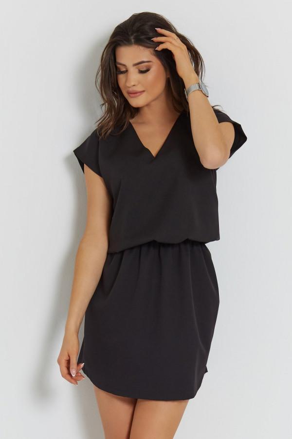 Luźna sukienka z wiązaniem LENA 3