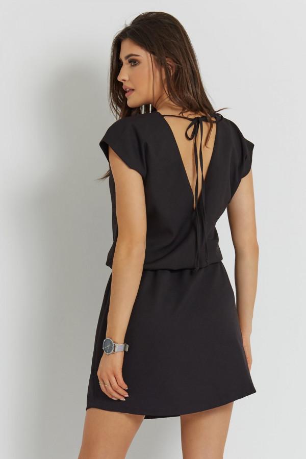 Luźna sukienka z wiązaniem LENA 4