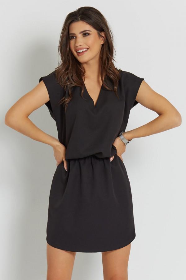 Luźna sukienka z wiązaniem LENA 2