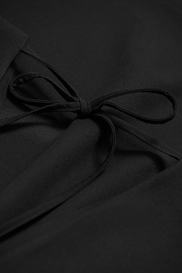 Luźna sukienka z wiązaniem LENA 5