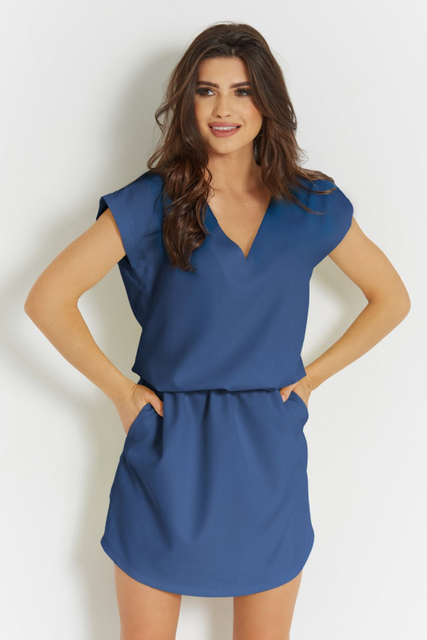 Luźna sukienka z wiązaniem LENA 1