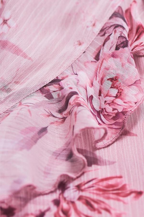 Asymetryczna sukienka w kwiaty LUNA 7
