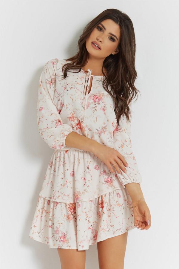Sukienka w kwiatowy wzór CHLOE