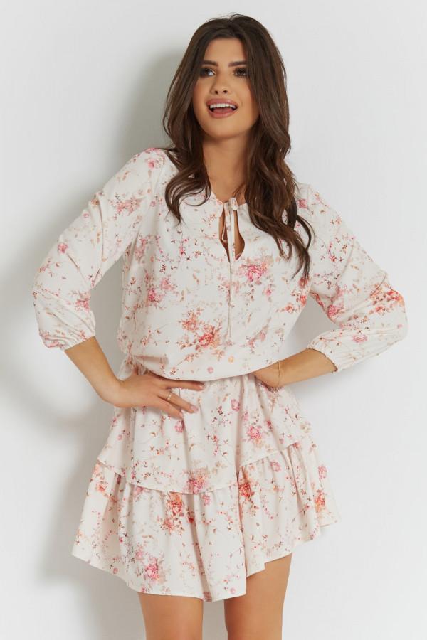 Sukienka w kwiatowy wzór CHLOE 6