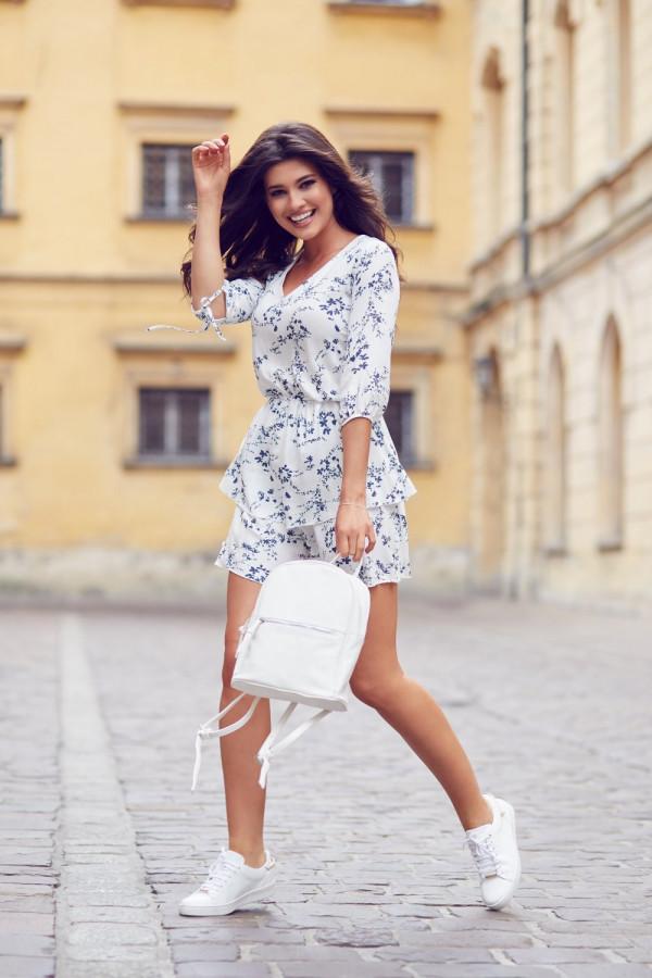 Sukienka w kwiaty SARA 2