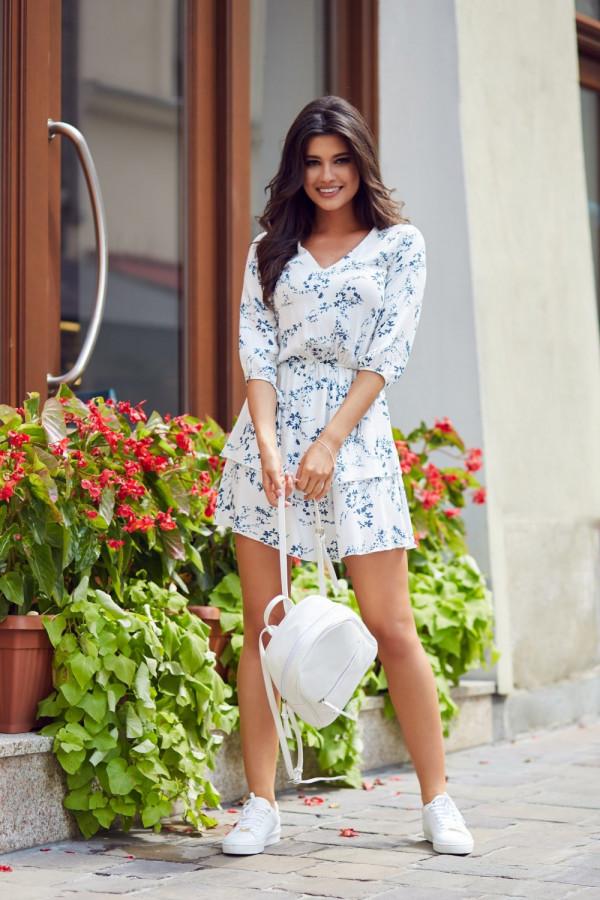 Sukienka w kwiaty SARA 4