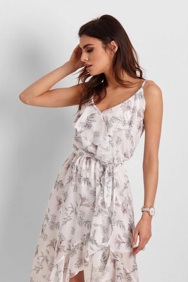 Asymetryczna sukienka CHANTAL 5