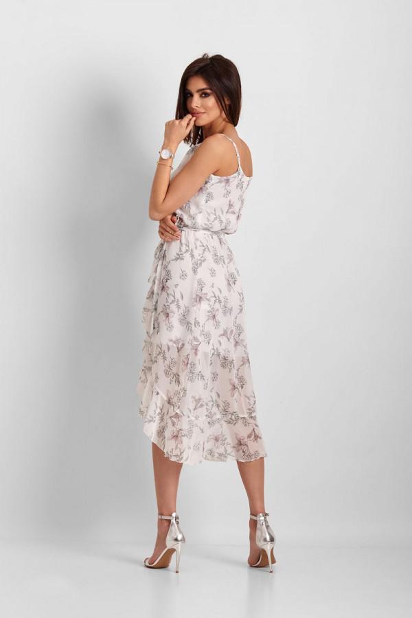 Asymetryczna sukienka CHANTAL 3