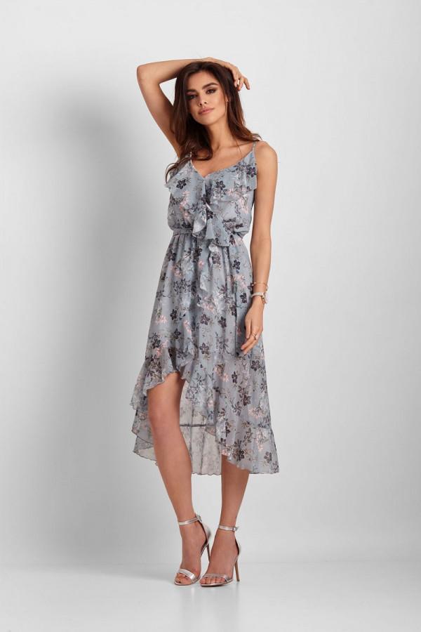 Asymetryczna sukienka CHANTAL 1