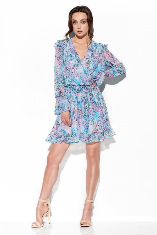 Szyfonowa sukienka we wzory HOLLY