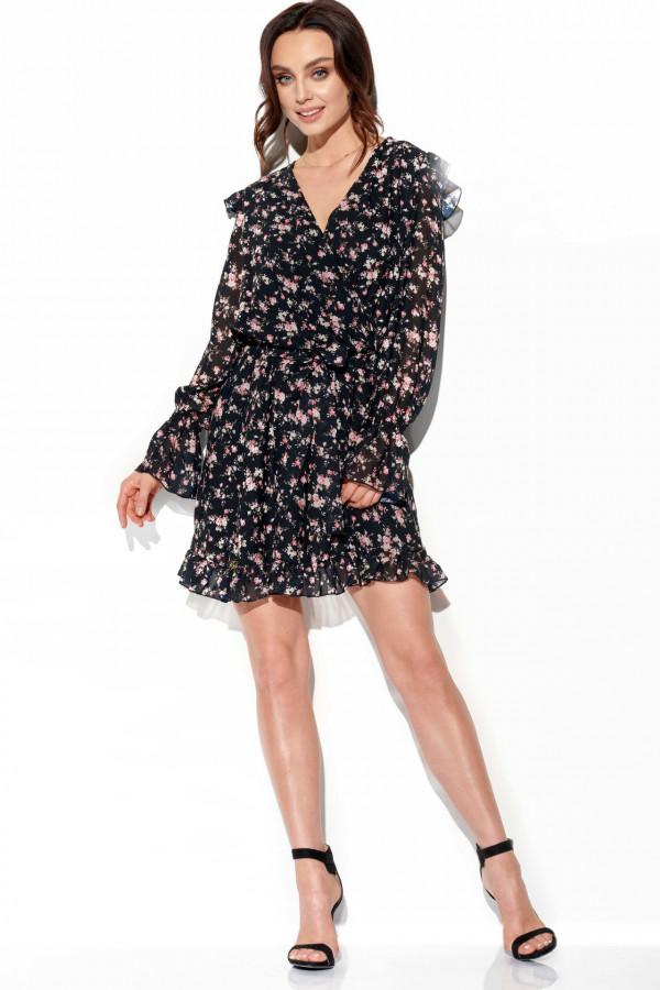 Szyfonowa sukienka we wzory HOLLY 2