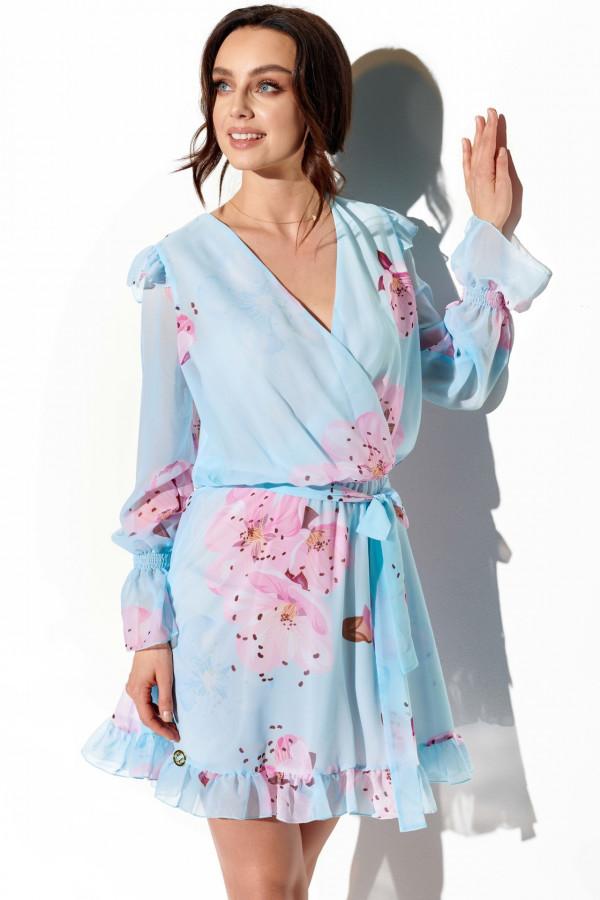 Szyfonowa sukienka we wzory HOLLY 3
