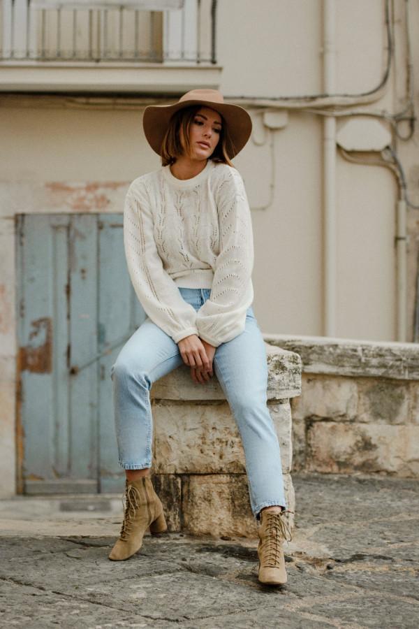 Sweter ażurowy MELODY 2