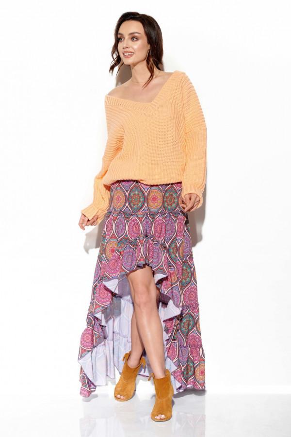 Sweter z dekoltem ZOYA 2