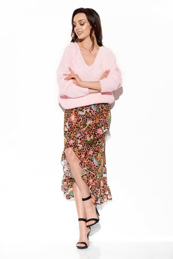 Sweter z dekoltem ZOYA 1