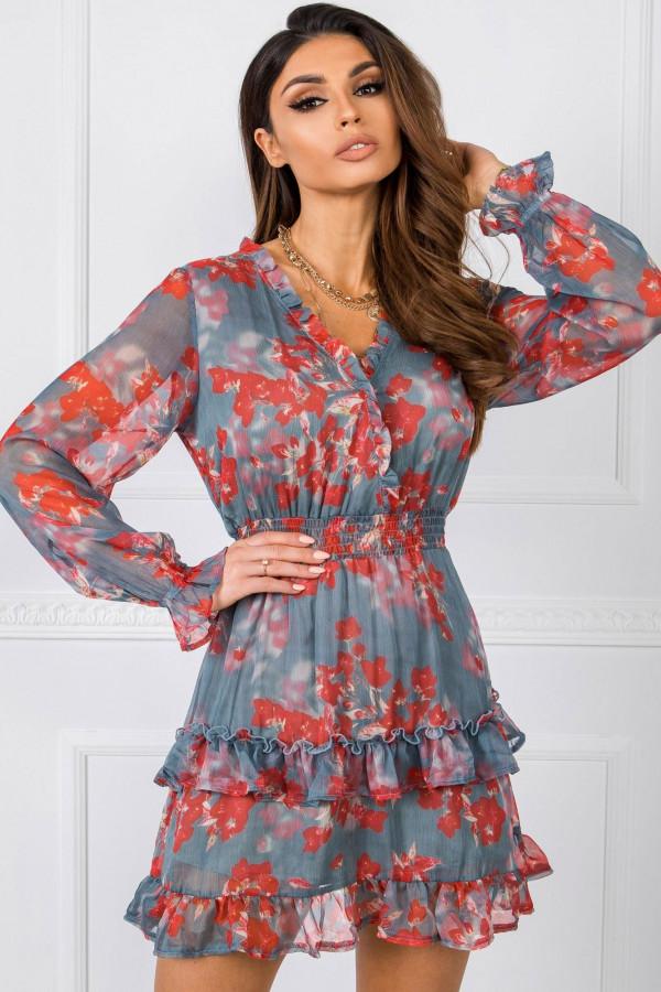 Sukienka w kwiaty ALISON