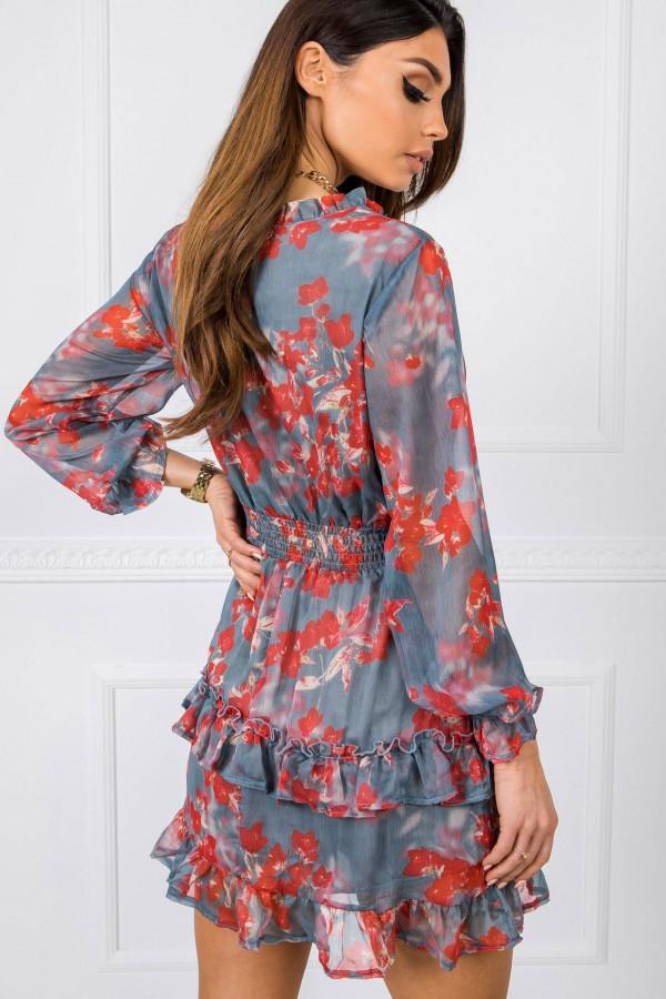 Sukienka w kwiaty ALISON 1