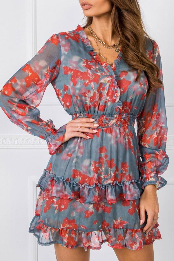 Sukienka w kwiaty ALISON 2