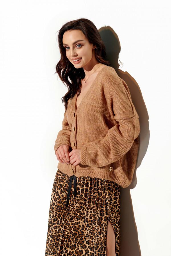 Sweter z guzikami ROMA