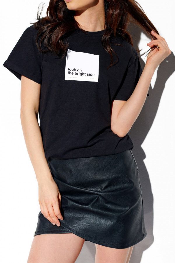 T-shirt LOOK ON THE BRIGHT SIDE 1