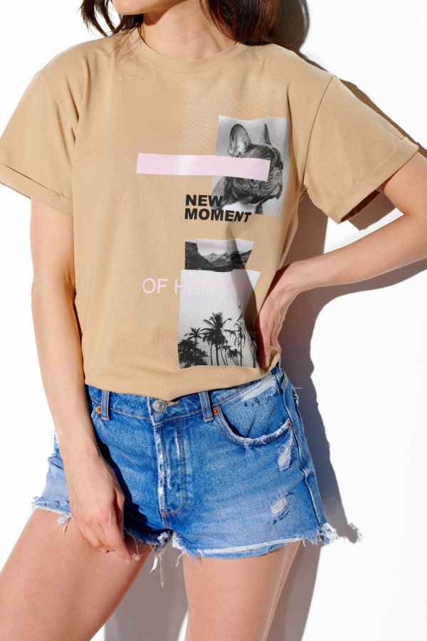 T-shirt NEW MOMENT OF HAPPINES 1