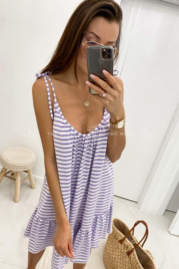 Sukienka z wiązanymi ramiączkami LIA