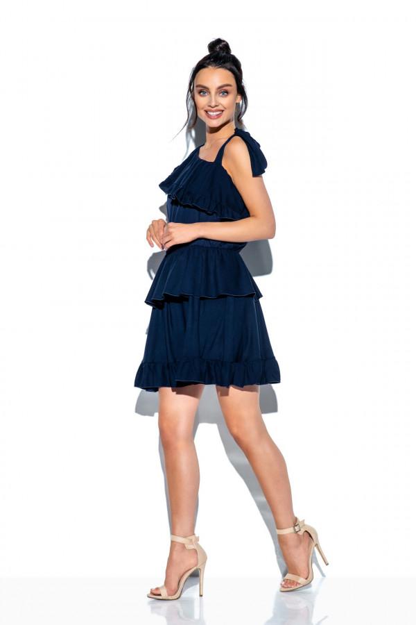 Sukienka z falbanami MIRA 7