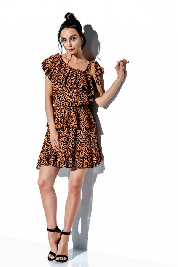 Sukienka z falbanami MIRA 6
