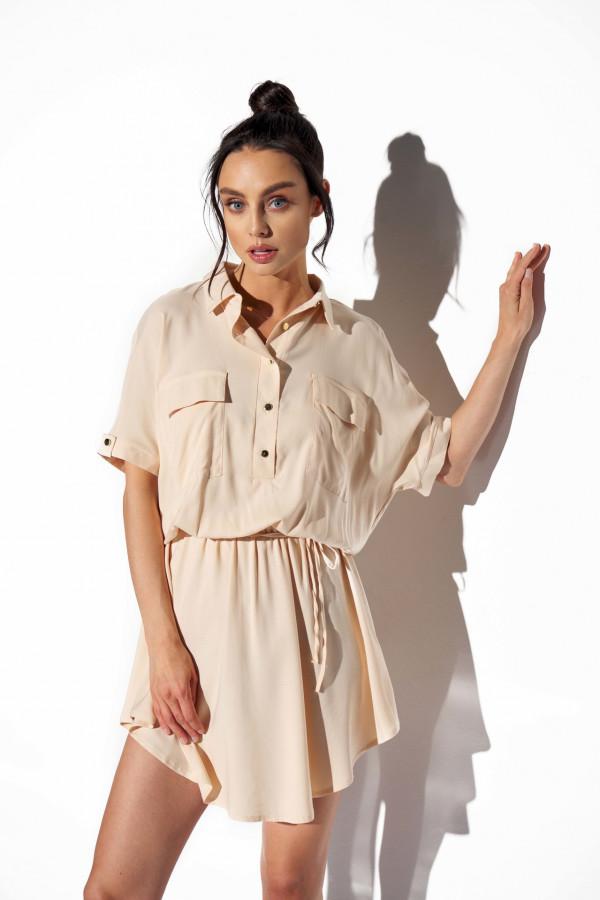 Koszulowa sukienka LEMA