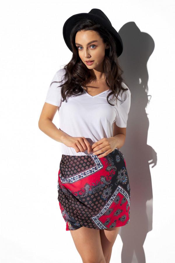 Spódnica mini we wzory STACY 4