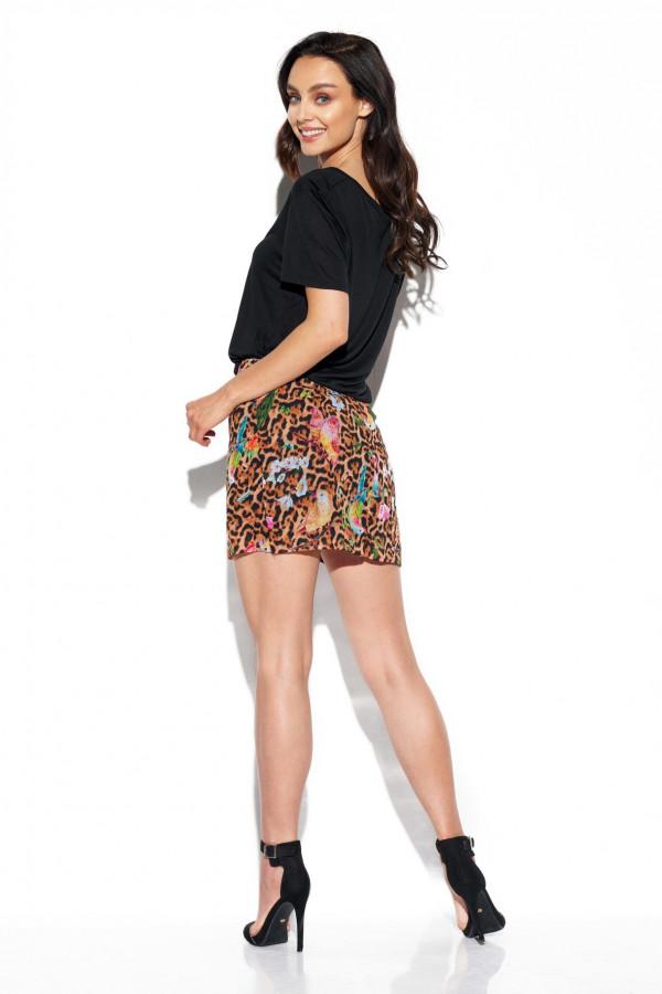 Spódnica mini we wzory STACY 5