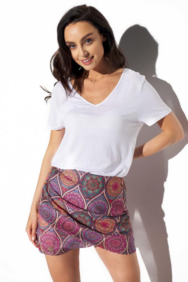 Spódnica mini we wzory STACY 3