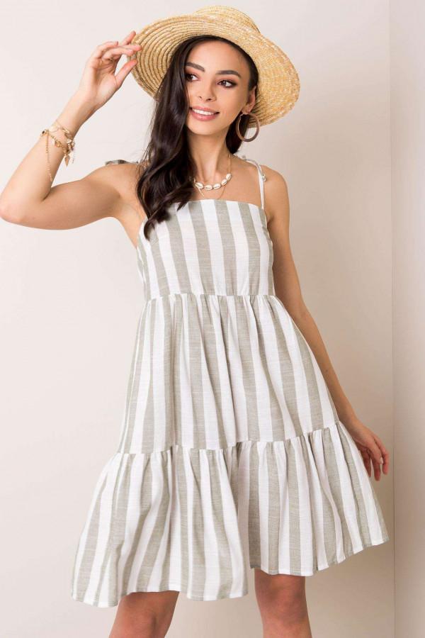 Sukienka w paski SEMILLE