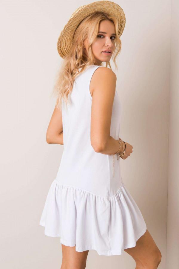 Sukienka basic z falbaną TRIPLE 1