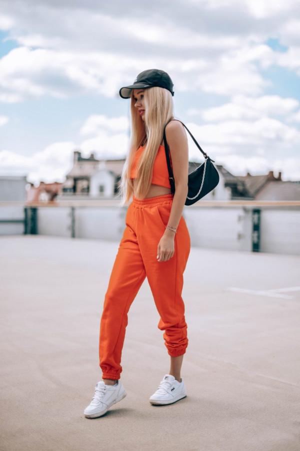 Komplet dresowy top + spodnie FASHION 6