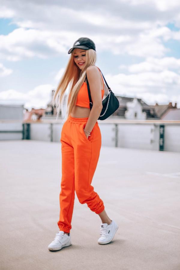 Komplet dresowy top + spodnie FASHION 5